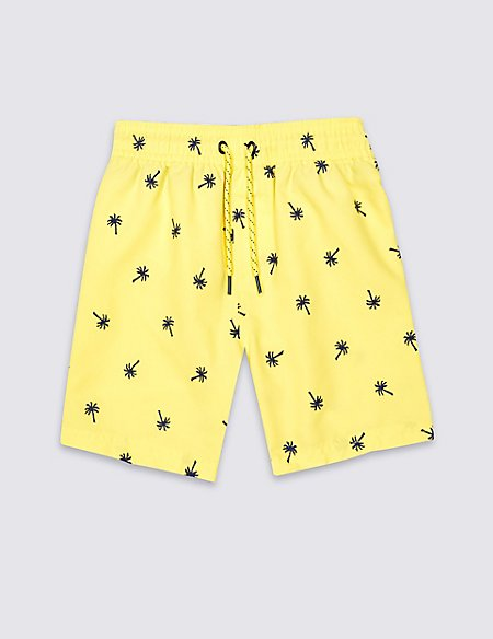 Embroidered Swim Shorts (3 Months - 5 Years)