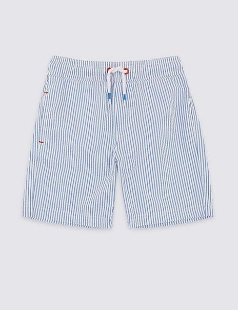 Seersucker Swim Shorts (3 Months - 7 Years)