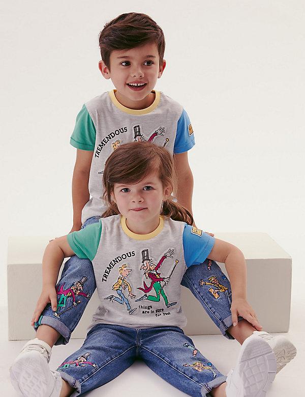 Katoenen Roald Dahl™-T-shirt (2-7 jaar)