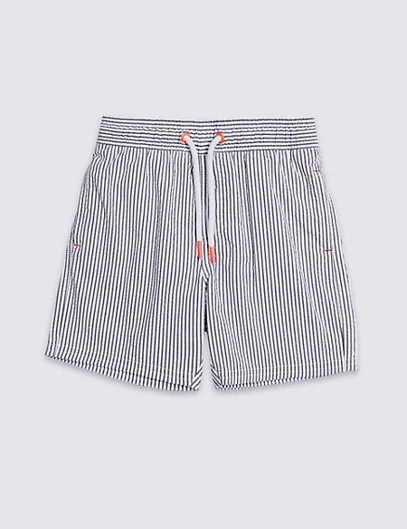 Striped Swim Shorts (3 Months - 7 Years)