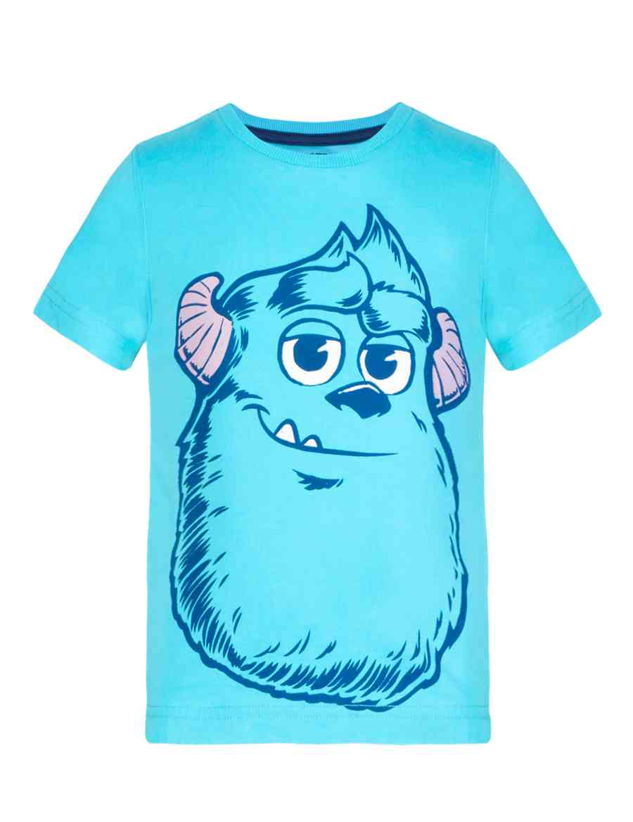 594ceaaf4 Pure Cotton Monster University Sully Boys T-Shirt (1-7 Years)