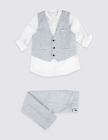 3 Piece Outfit (3 Months - 7 Years)