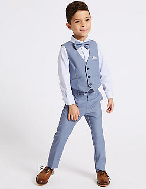 Boys Suits | Wedding & 3 Piece Suits for Boys | M&S US