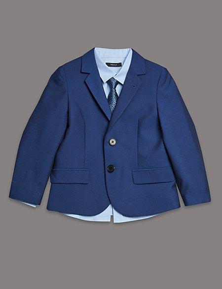 3 Piece Blazer, Shirt & Tie Outfit (1-10 Years)