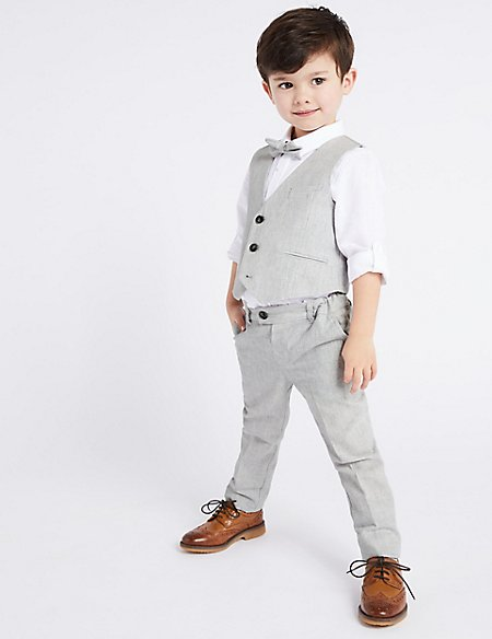 4 Piece Suit Outfit (3 Months - 7 Years)