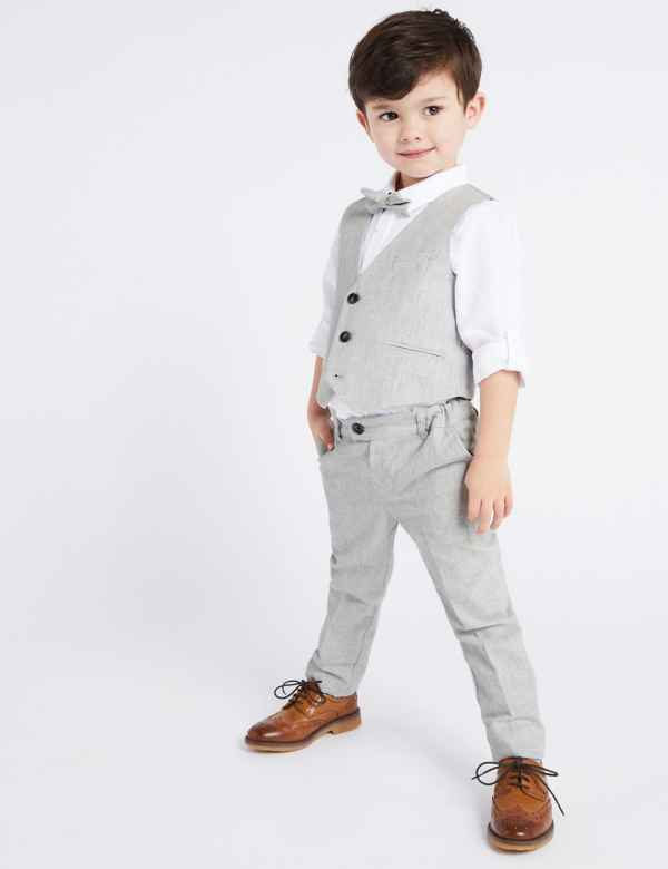 c8678d73c 4 Piece Suit Outfit (3 Months - 7 Years)