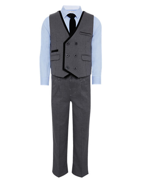 4 Piece Waistcoat Outfit