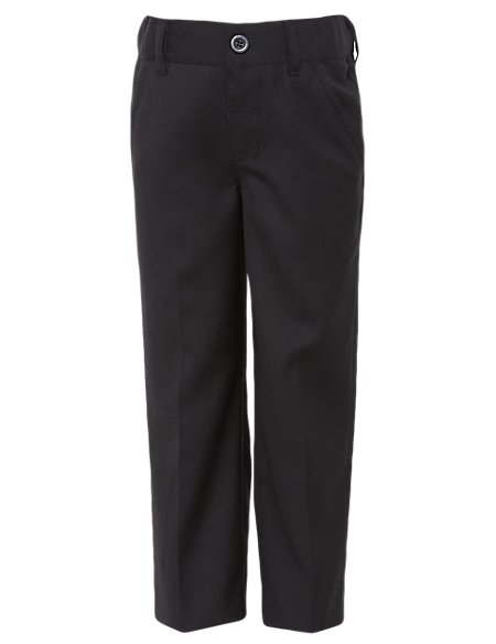 Adjustable Waist Straight Leg Trousers (1-10 Years)