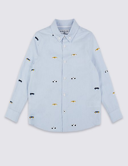Embroidered Shirt (3 Months - 7 Years)