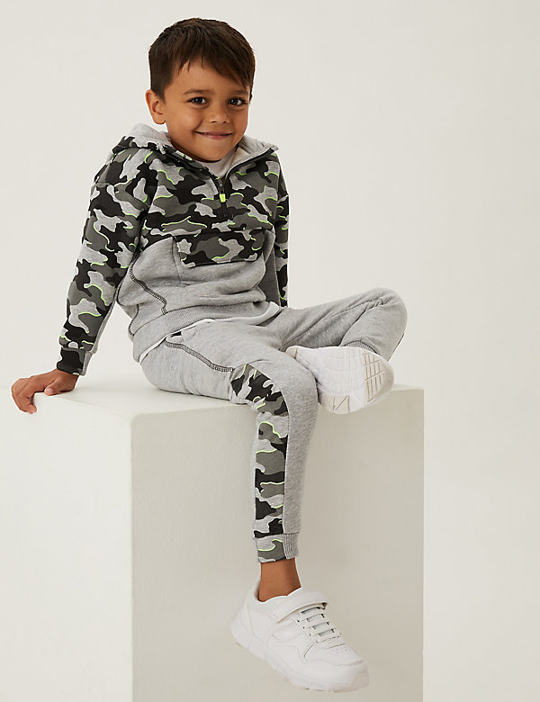 2pc Cotton Camouflage Tracksuit (2-7 Yrs)
