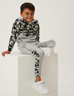 2pc Cotton Camouflage Top & Bottom Outfit (2-7 Yrs)