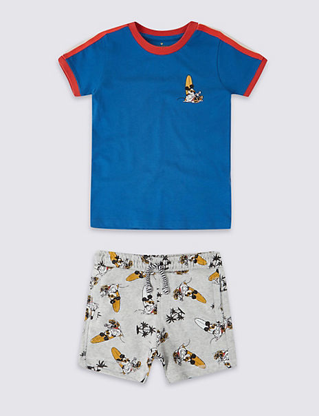 Mickey Mouse™ T-Shirt & Shorts Outfit (3 Months - 7 Years)