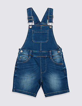 Denim Dungarees (3 Months - 7 Years)