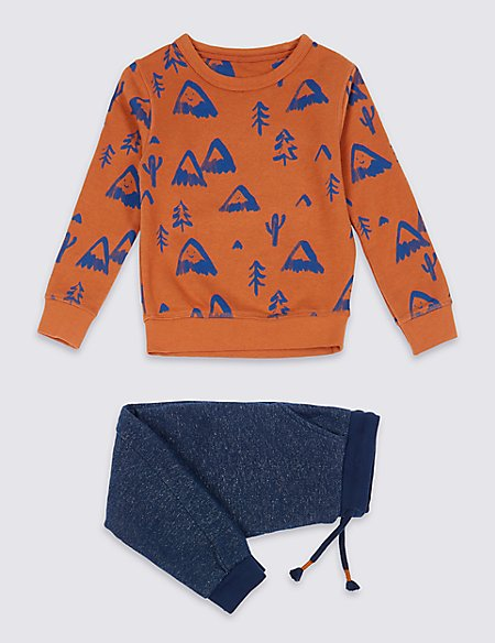 All Over Print Outfit (3 Months - 7 Years)