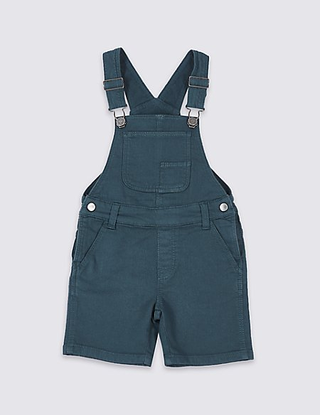 Cotton Rich Dungarees (3 Months - 7 Years)