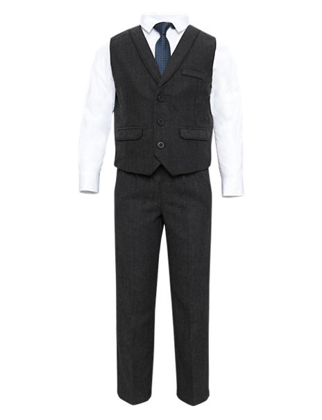 3 Piece Waistcoat Outfit with Tie