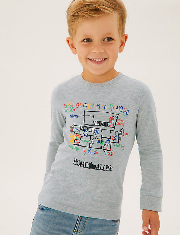 Cotton Home Alone™ Top (2-7 Yrs)