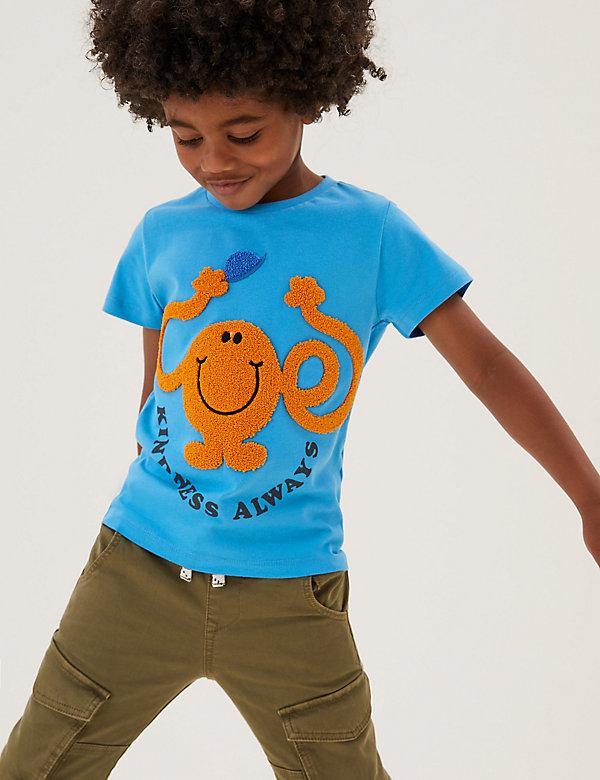 Puur katoenen Mr. Men™-T-shirt (2-7 jaar)