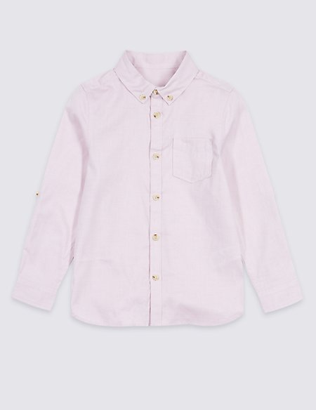 Pure Cotton Oxford Shirt (3 Months - 7 Years)