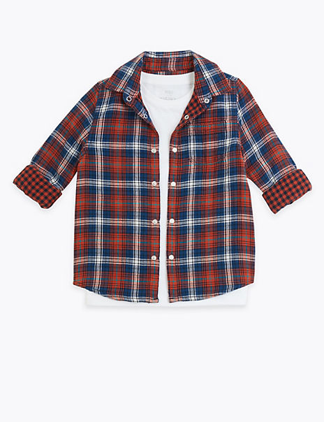 Checked Shirt (3 Months - 7 Years)
