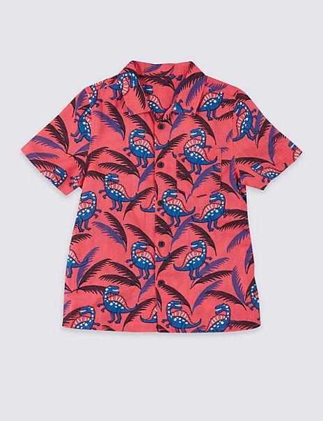 Dinosaurs Print Shirt (3 Months - 7 Years)
