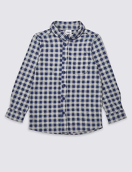 Easy Dressing Checked Shirt (3 Months - 7 Years)