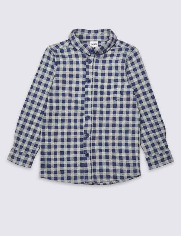 c063d888d5 Boys Shirts | M&S