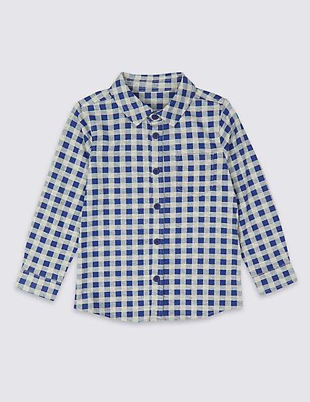 Cotton Rich Jersey Shirt (3 Months - 7 Years)