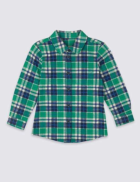 Cotton Rich Jersey Shirt (3 Months - 7 Years)