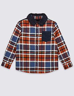Pure Cotton Shirt (3 Months - 7 Years)