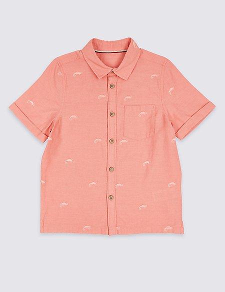 Linen Rich Shirt (3 Months - 7 Years)