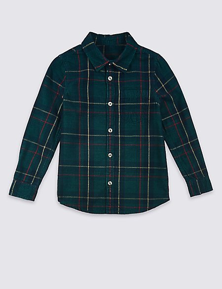 Cord Checked Shirt (3 Months - 7 Years)
