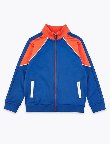 Zipped Through Sweatshirt (2-7 Years)