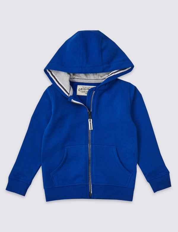 e0d9e7a7ae8f Cotton Rich Hooded Top (3 Months - 7 Years)