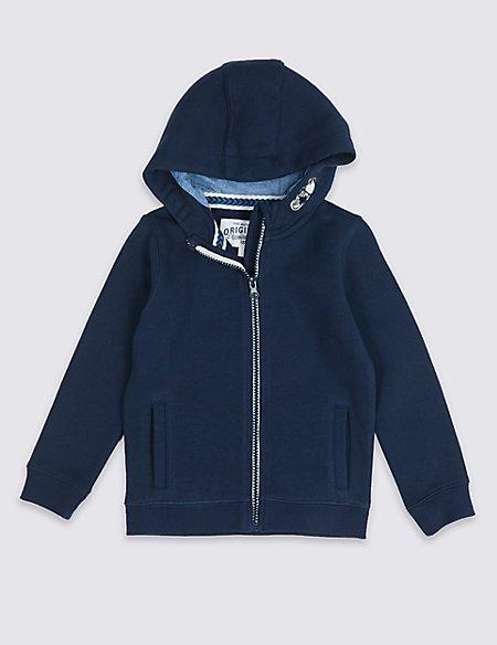 Hooded Sweatshirt (3 Months - 7 Years)