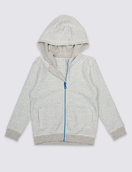 Pure Cotton Hooded Top (3 Months - 7 Years)