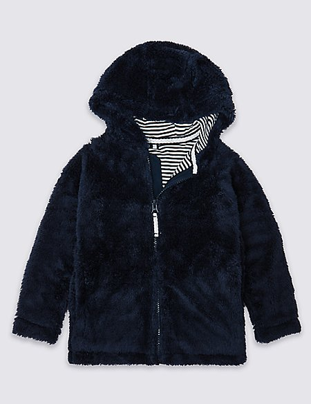 Borg Hooded Top (3 Months - 7 Years)