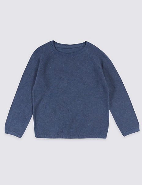 Pure Cotton Knitted Jumper (3 Months - 7 Years)