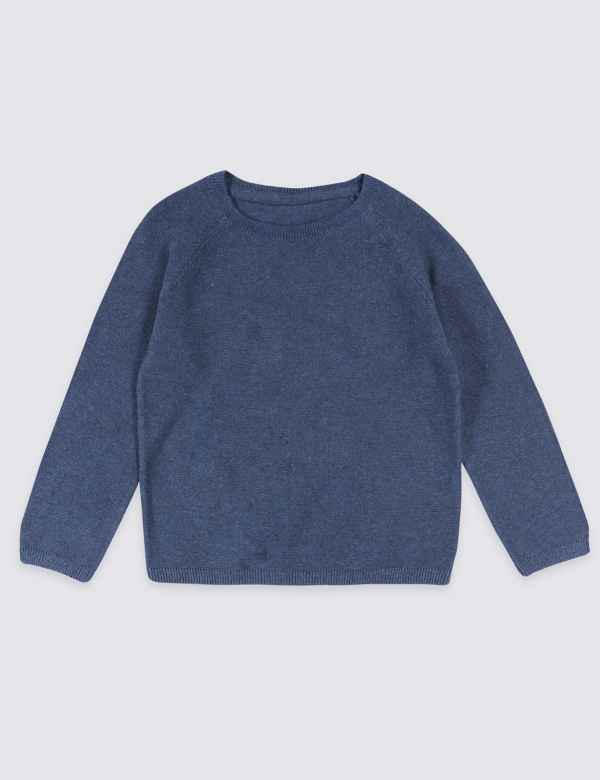 ffc336c8d Pure Cotton Knitted Jumper (3 Months - 7 Years)