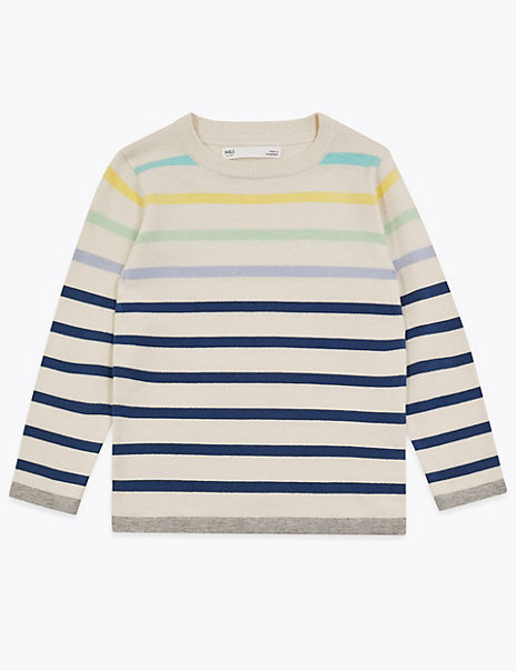 Cotton Striped Jumper (2-7 Years)