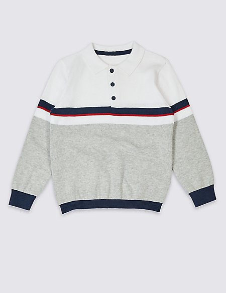 Pure Cotton Jumper (3 Months - 7 Years)