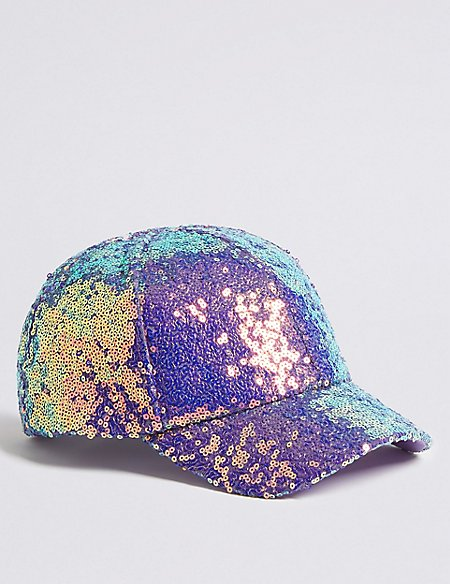 Kids  Sequin Baseball Cap (3-14 Years)  37dc81618900