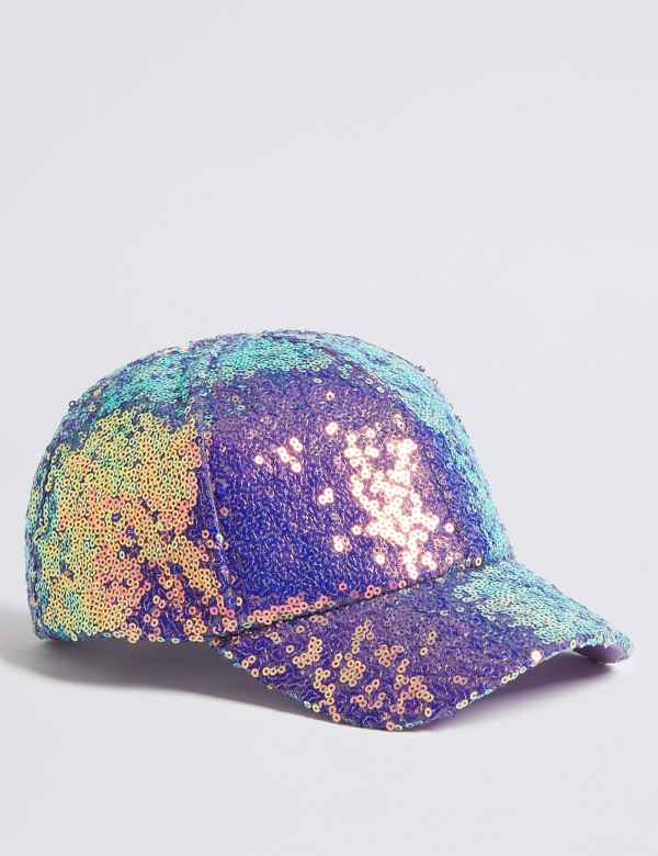 Kids  Sequin Baseball Cap (3-14 Years) 9e593c3f034a