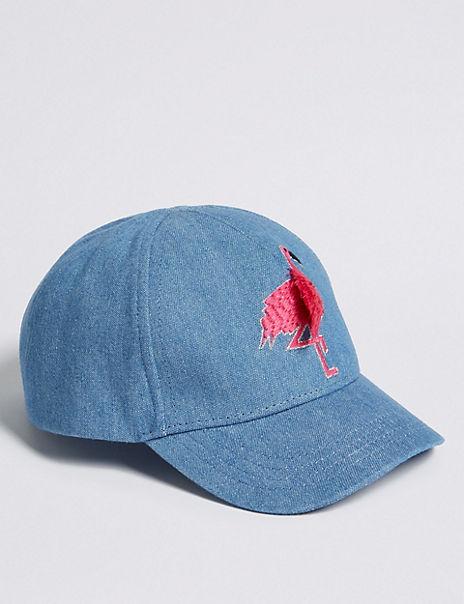Kids' Flamingo Baseball Cap (0 Month - 6 Years)