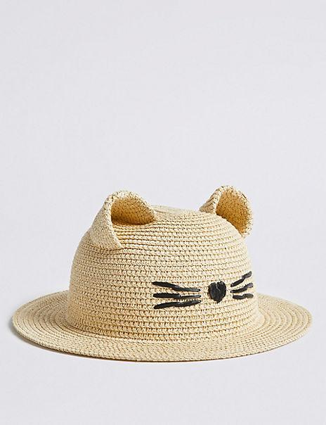Kids' Novelty Straw Hat (6 Months - 6 Years)