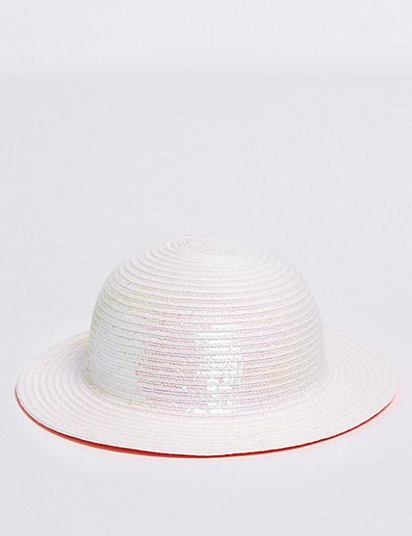 Kids' Straw Floppy Hat (6 Months - 6 Years)