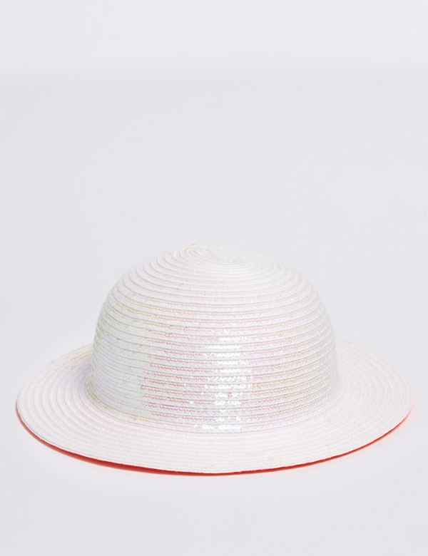 28d888b9544cd Kids  Straw Floppy Hat with Sun Smart UPF50+ (6 Months -14 Years)