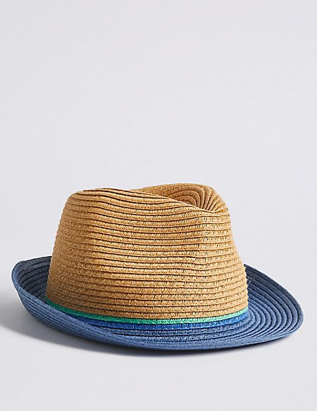 Kids' Trilby Hat with Sun Smart UPF50+ (6 Months - 14 Years)