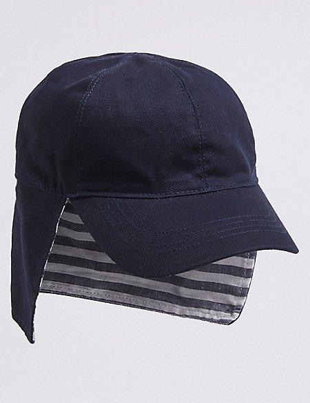 Kids' Striped Hat with Sun Smart UPF50+ (0-6 Years)