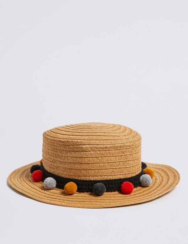 567aded0f8c Kids  Straw Hat with Sun Smart UPF50+ (6-14 Years)